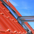 Stock Photo: Roof window