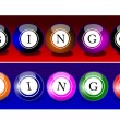 Stock Photo: Bingo Balls