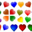 Zdjęcie stockowe: Colorful heart for your love