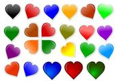 Colorful heart for your love — Stock Photo