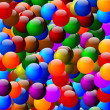 Stock Photo: Many colorful beads as background