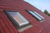 Roof windows — Stock Photo