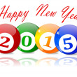 Wishes for the New Year 2015 — Stock Photo