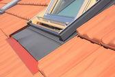 Střešní okna — Stock fotografie