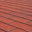 Постер, плакат: Red asphalt shingles
