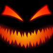 Royalty-Free Stock Vector Image: Halloween Scary Face