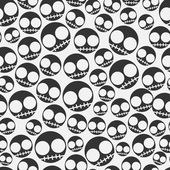 Emo seamless pattern — Stock Vector
