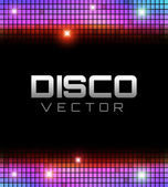 Disco Party Design — Stock Vector