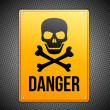 Danger sign - Stock Vector