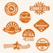 Summer sale — Stock Vector #25533217