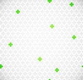 Green medical pattern — Stock Vector