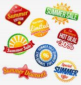Summer sale — Stock Vector