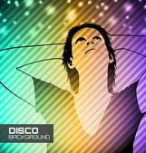 Disco party poster — Stock Vector