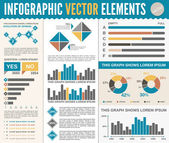 Infographic Template — Stock Vector
