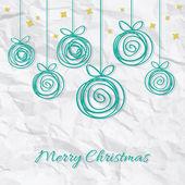 рождественские фенечки — Cтоковый вектор