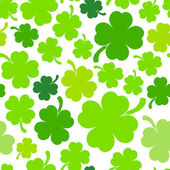 Four-leaf clover background — Stock Vector