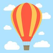 Hot air balloon — Stock Vector