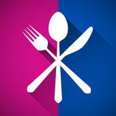 Gastronomy - Restaurant symbol — Stock Vector