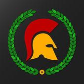 Spartan helmet — Stock Vector