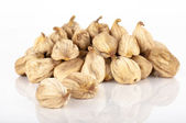 Dried figs white background — Stock Photo