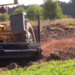 Stock Video: Bulldozer