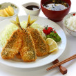Japanese lunch set meal — Foto Stock