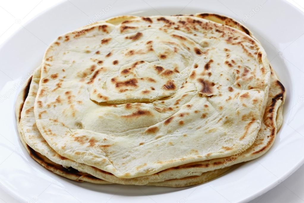 South indian layered flat bread — Stock Photo #12146305