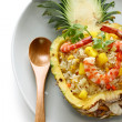 Pineapple fried rice - Stock Photo