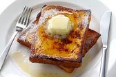 Eggnog french toast — Stock Photo