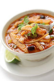 Tortilla soup, mexican cuisine — Foto de Stock