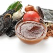 Stock Photo: Mole poblano sauce, mexiccuisine