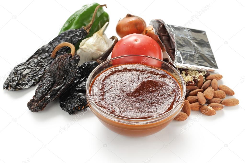 Mole poblano ingredientes