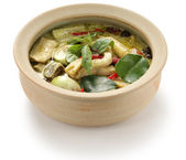 Green curry — Stock Photo