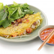 Stock Photo: Banh xeo, vietnamese cuisine