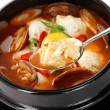 Stock Photo: Sundubu jjigae, korecuisine