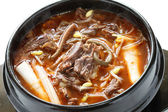 Yukgaejang, korean food — Stock Photo