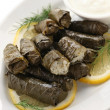 Dolma, stuffed grape leaves — Stock Photo #21514751