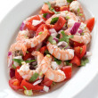 Shrimp ceviche , prawn ceviche - Stock Photo