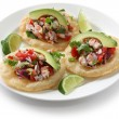 Stock Photo: Tostadas de ceviche