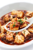 Sichuan mapo tofu — Stock Photo