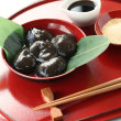 Stock Photo: Warabimochi, traditonal japanese confectionery