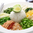 Thai rice salad — Stock Photo