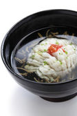 Hamo-wan, japanese cuisine — Stock Photo