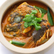 Fish head curry — Stock Photo