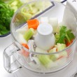 Stock Photo: Food processor, kitchen equipment