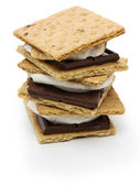 Smore, campfire treat — Stock Photo