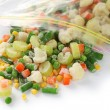 Homemade frozen vegetables — Stock Photo #42799125