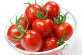 Cherry tomatoes, lycopene image — Stock Photo