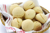 Pao de queijo, brazilian cheese bun — Stock Photo