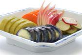 Homemade japanese pickles, tsukemono — Stock Photo